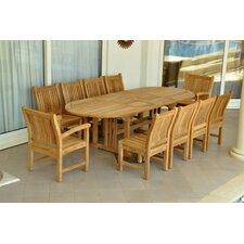 Sahara 11 Piece Dining Set