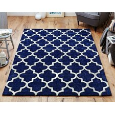 Oxon Hand-Tufted Blue Rug