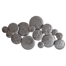 Silver Metal Mercury Wall Décor
