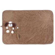 Animal Pal Rolled Sherpa Blanket