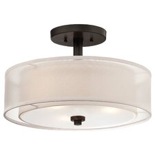Bensenville 3-Light Semi Flush Mount