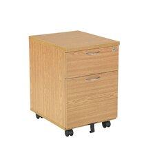 Essentials 2-Drawer Mobile Pedestal