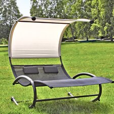 Santa Monica Double Lounger with Canopy