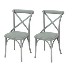 Eco-Friendly Nylon Vintage Dining Side Chair (Set of 2)