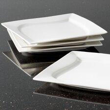 """Dahlia 8"""" Square Salad Plate (Set of 6)"""