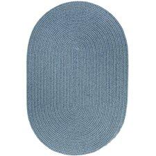 Handmade Blue Area Rug