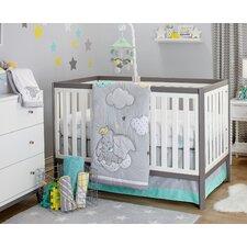 Dumbo Dream Big 3 Piece Crib Bedding Set