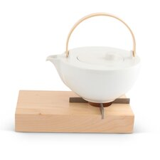 2-tlg. Teekanne / Stövchen-Set Chai