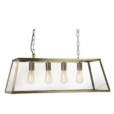 Riga 4 Light Pool Table Pendant