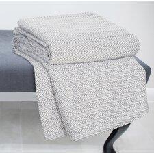 Chevron 100% Cotton Blanket