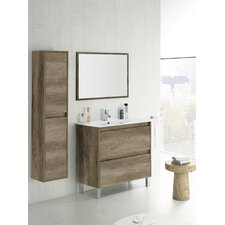 Dakota 80cm Vanity Unit With Mirror