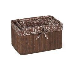 3 Piece Claremont Bamboo Basket Set
