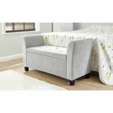 Cambridgeshire Upholstered Storage Bedroom Bench