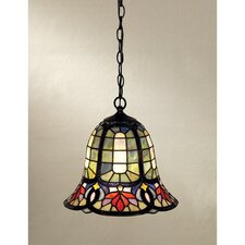 Hyacinth 1-Light Tiffany Pendant