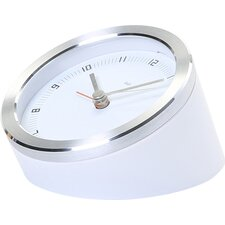 "3.5"" Blanco Executive Alarm Clock"