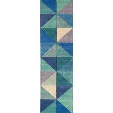 Carmel Hand-Tufted Blue Area Rug