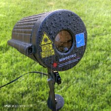 Firefly Laser Projection Light with Automatic Timer Remote