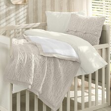 Boutique Wool Blended 6 Piece Crib Bedding Set