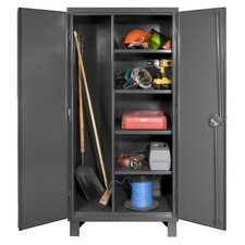 Extra Heavy Duty Welded 12 Gauge Steel Lockable Maintenance Cabinet