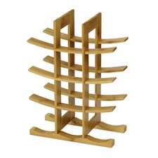 DaPur Bamboo 12-Bottle Tabletop Wine Rack