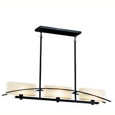 Suspension 3-Light Linear Pendant