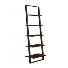 "Arlington Wall 72"" Leaning Bookcase"
