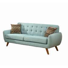Retro Mid-Century Sofa and Loveseat Set