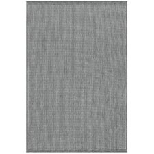 Ariadne Saddle Stitch Gray Indoor/Outdoor Area Rug