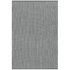 Ariadne Saddle Stitch Gray Indoor/Outdoor Area Rug