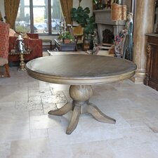 Florence Reclaimed Wood Round Dining Table