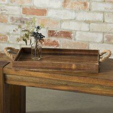 Wooden Rectangular Tray