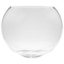 Oval Glass Decorative Bowl