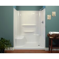 "32"" x 60"" x 59"" Seated Shower Wall"