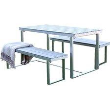 Salvatore Grey Patio Table