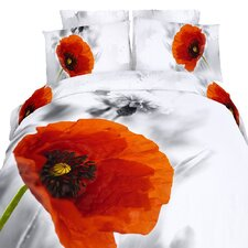 Novelty Poppies 4 Piece Twin Duvet Cover Set