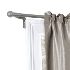 Smart Easy Install Cafe Window Curtain Single Rod