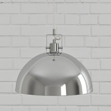 Domas Oliver 1-Light Bowl Pendant