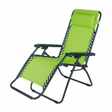 Sanibel Outdoor Folding and Reclining Zero Gravity Chair