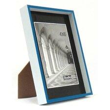 Modern Striped Clean Cut Picture Frame