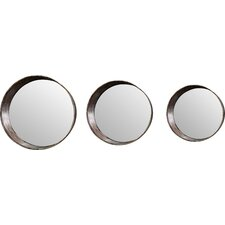 3-Piece Metal Mirror Set