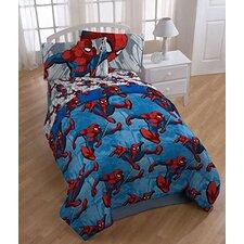 Spider-Man 4 Piece Twin Comforter Set