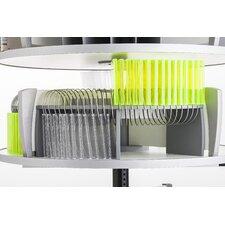 CD/DVD Organizer for Deluxe Binder & File Carousel Shelving