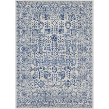 Hillsby Hand-Woven Blue Area Rug