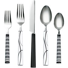 Simple Lines 20-Piece Flatware Set
