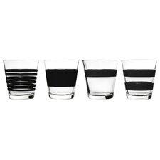 4-tlg. Whiskyglas-Set
