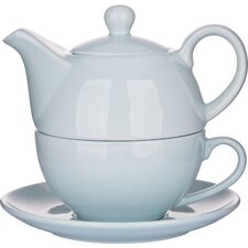 3 Pieces Porcelain Teapot Set