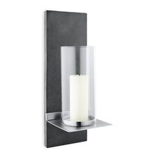 Finca Wall-Mounted Stainless Steel Sconce