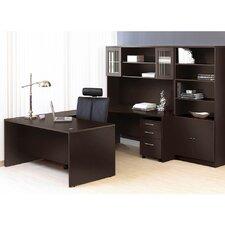 Pro X Executive 6 Piece U-Shape Desk Office Suite