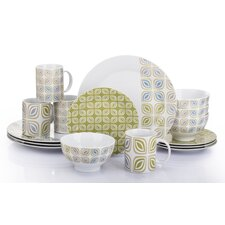 Leaf 16 Pieces Dinnerware Set