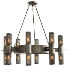 Dirk 18-Light Shaded Chandelier